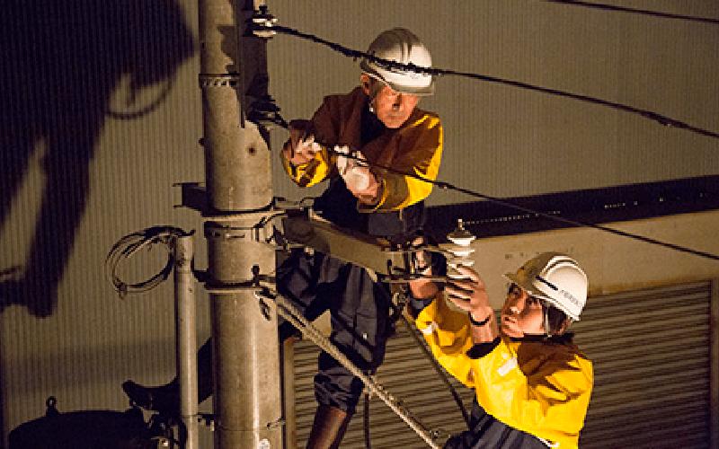 引き込み電気工事